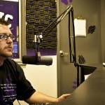 Radio studio at KWC